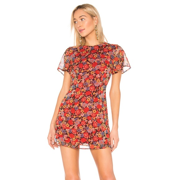 REVOLVE Lotte Dress In Mixed Floral